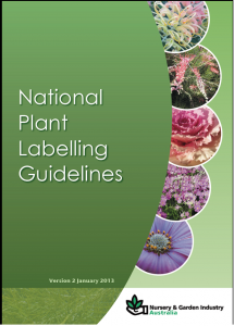 National Plant Label Guidelines