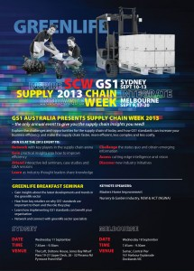 GS1 Supply Chain Week 2013