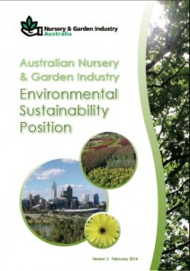 Australian Nursery & Garden Industry Environmental Sustainability Position