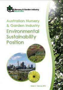 Australian Nursery & Garden Industry Environmental Sustainability Position