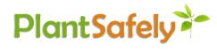 Plant safely logo